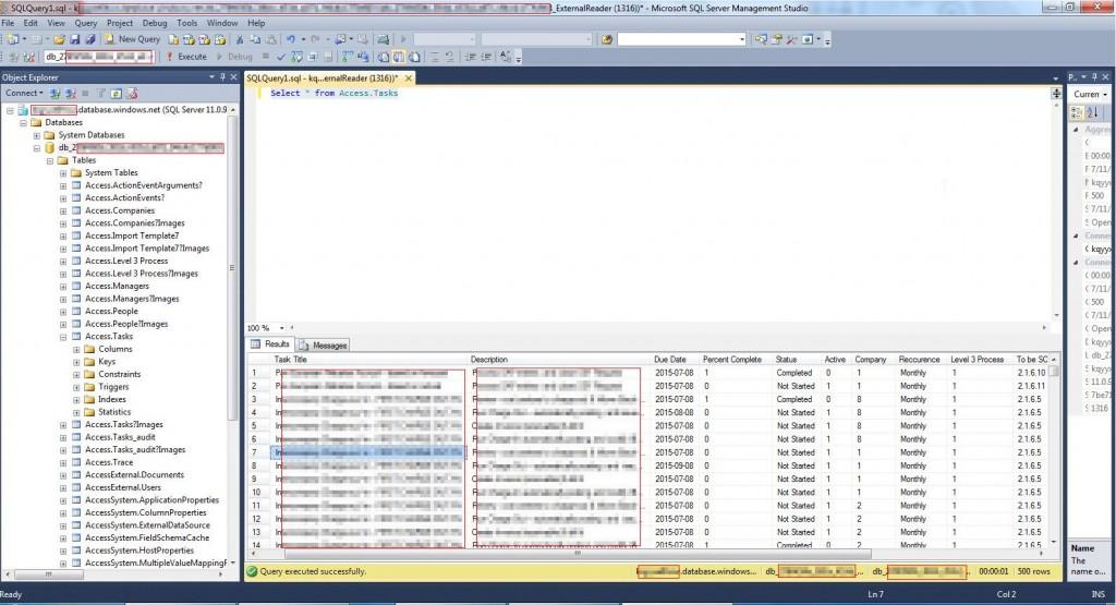 6. Imported Tasks in SQL Server