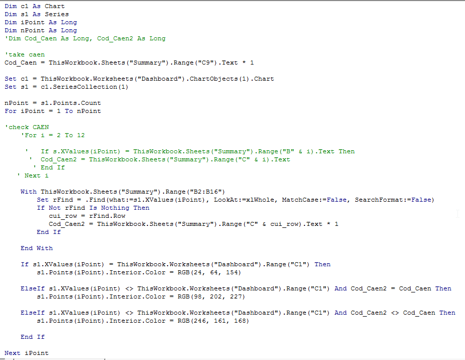VBA Code sample3