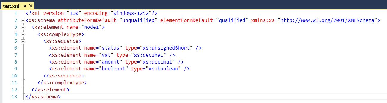 Validate XML against XSD schema in Microsoft Dynamics NAV