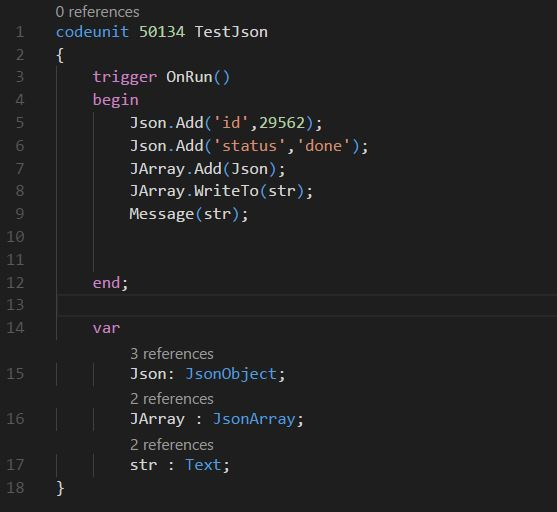 How to Create a Simple Json File in NAV C/AL and AL - Andrei