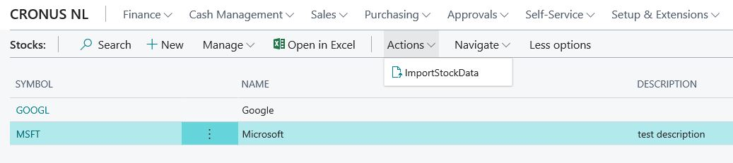 Using REST Web Service to Import Json Data in Business